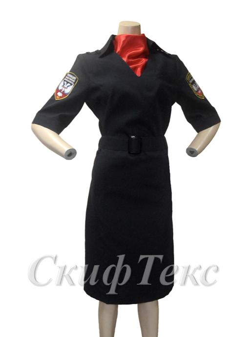 Платье МВД с лого